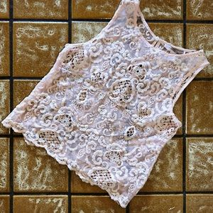 Contemporary Lace Tank